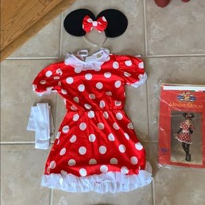 Minnie Mouse Child's Costume